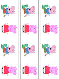 Peppa Pig Edible Icing Cake Topper 01