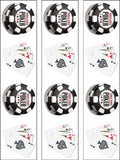 Poker Cards Edible Icing Cake Topper 03