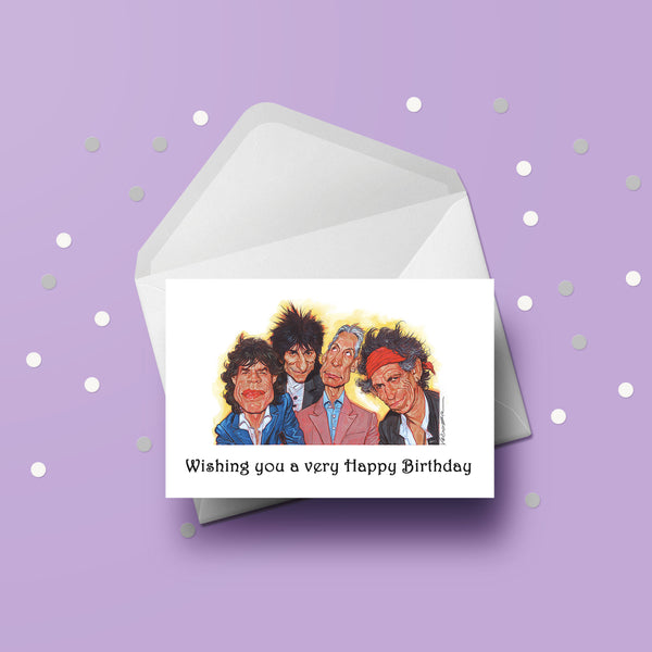 Rolling Stones Card 02