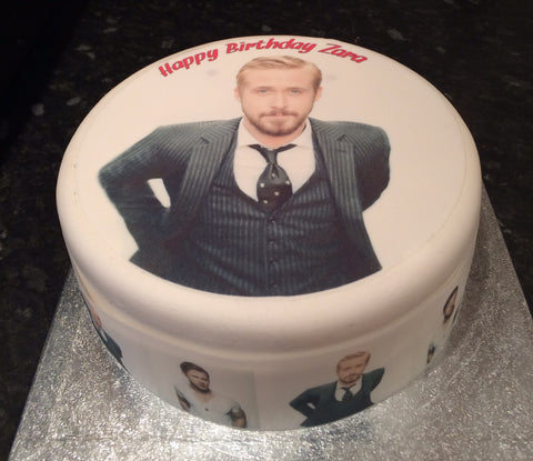 Ryan Gosling Edible Icing Cake Topper 02