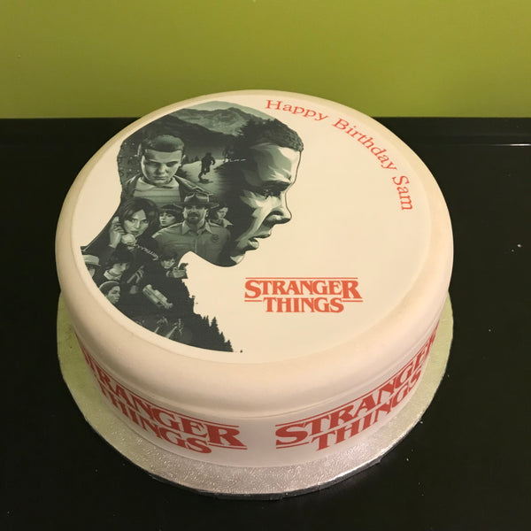 Stranger Things Edible Icing Cake Topper 03