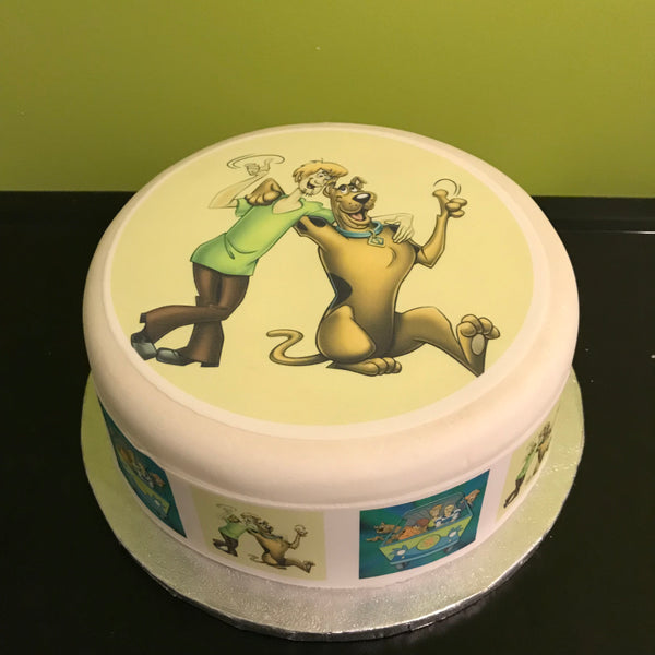 Scooby Doo Edible Icing Cake Topper 02
