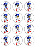 Sonic the Hedgehog Edible Icing Cake Topper 01