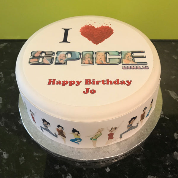 Spice Girls Edible Icing Cake Topper 02