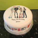 Spice Girls Edible Icing Cake Topper 03