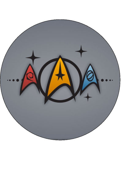 Star Trek Edible Icing Cake Topper 03