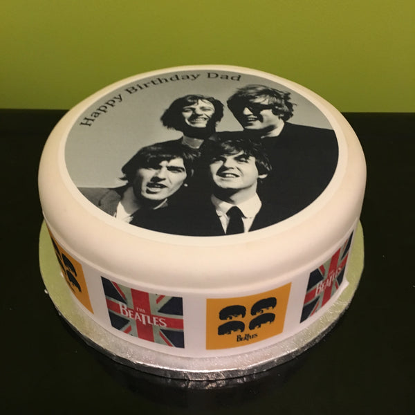 The Beatles Edible Icing Cake Topper 02