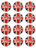 The Beatles Edible Icing Cake Topper 04