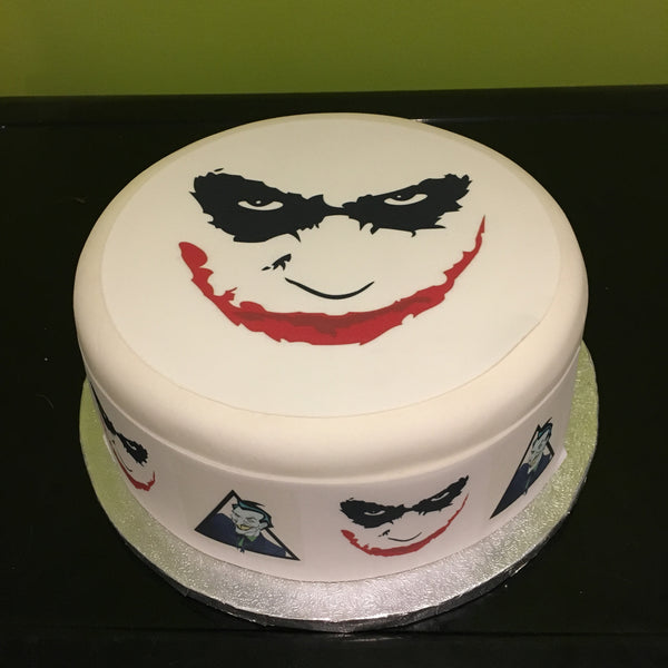 The Joker Edible Icing Cake Topper 04