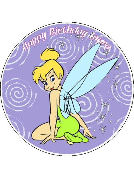 Tinkerbell Edible Icing Cake Topper 01