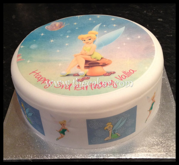 Tinkerbell Edible Icing Cake Topper 03