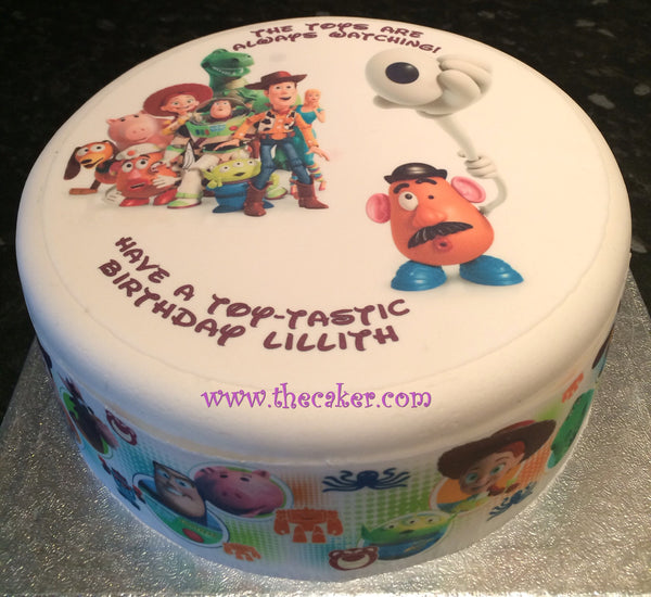 Toy Story Edible Icing Cake Topper 02