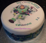 Toy Story Edible Icing Cake Topper 05 Buzz