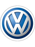 VW Logo Edible Icing Cake Topper
