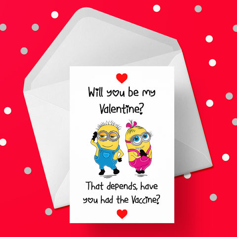 Valentine's Day Card 02 - Funny Vaccine