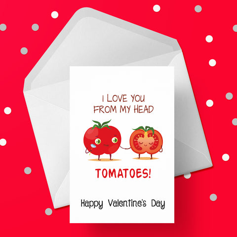 Valentine's Day Card 15 - Funny Love you.....
