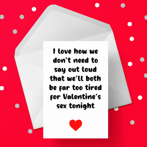 Valentine's Day Card 37 Funny Valentines Sex