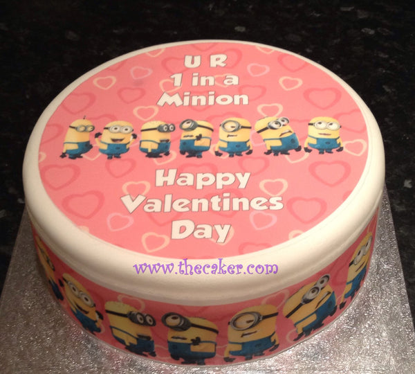 Valentine 07 Edible Icing Cake Topper