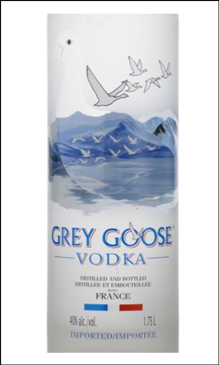 Grey Goose Vodka Label Vodka Label Edible Ici...
