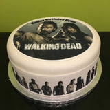 The Walking Dead Edible Icing Cake Topper 03