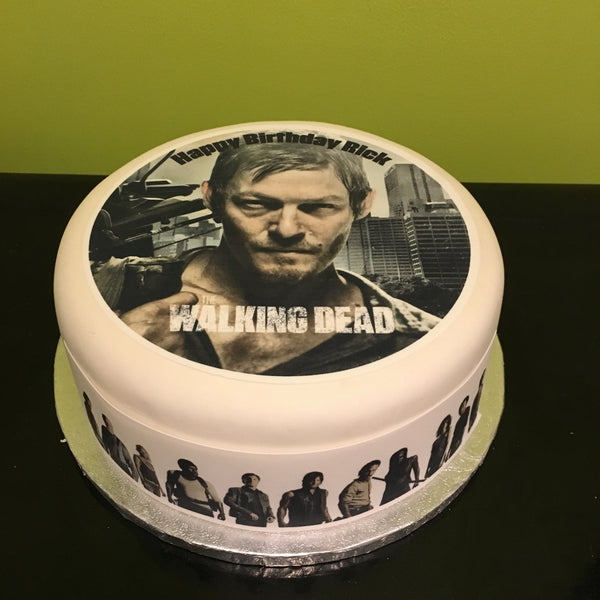 The Walking Dead Edible Icing Cake Topper 04