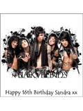 Black Veil Brides Edible Icing Cake Topper 01