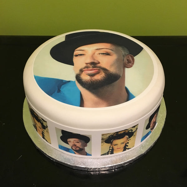 Boy George Edible Icing Cake Topper 02