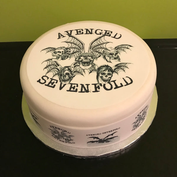 Avenged Sevenfold Edible Icing Cake Topper 02