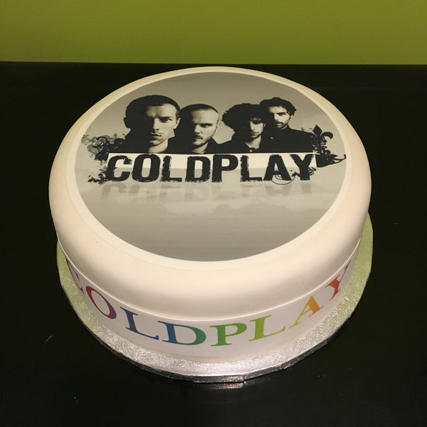 Coldplay Chris Martin Edible Icing Cake Topper 02