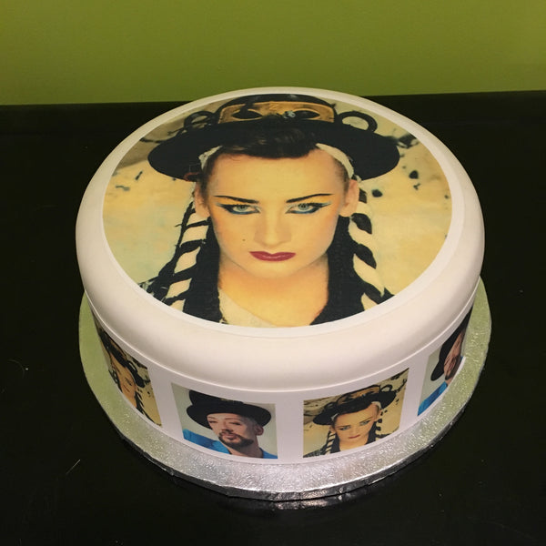 Boy George Edible Icing Cake Topper 01