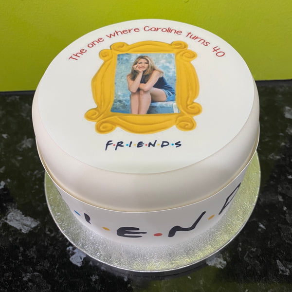Friends Edible Icing Cake Topper 05 - Own photo