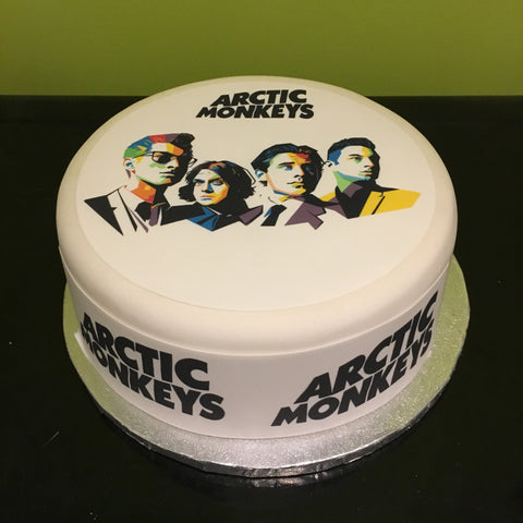 Arctic Monkeys Edible Icing Cake Topper 01