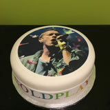 Coldplay Chris Martin Edible Icing Cake Topper 01