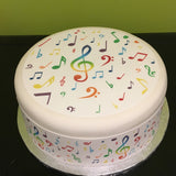 Music Notes Edible Icing Cake Topper 03