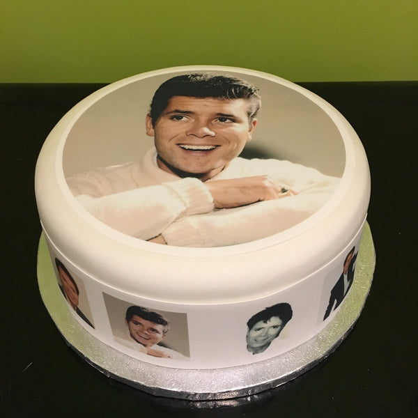 Cliff Richard Edible Icing Cake Topper 04