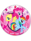My Little Pony Edible Icing Cake Topper 02