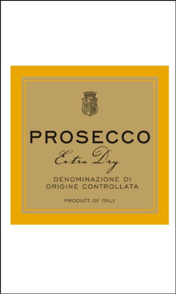 Prosecco Label Edible Icing Topper 03