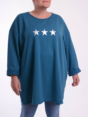 Basic Cotton Top 3 Star - 9482 - Pure Plus Clothing