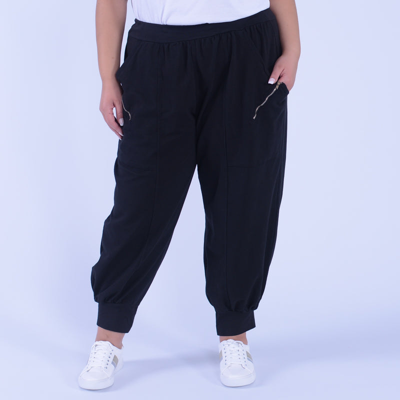 Lagenlook Heavy Cotton Trousers - 9816 - Pure Plus Clothing