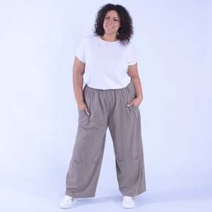 Lagenlook Heavy Cotton Trousers - 9820 - Pure Plus Clothing
