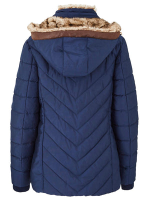 Padded Jacket Navy Blue - CT0152/WS207 - Pure Plus Clothing