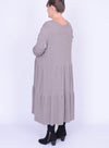 Soft Feel Maxi Dress - 20313 - Pure Plus Clothing