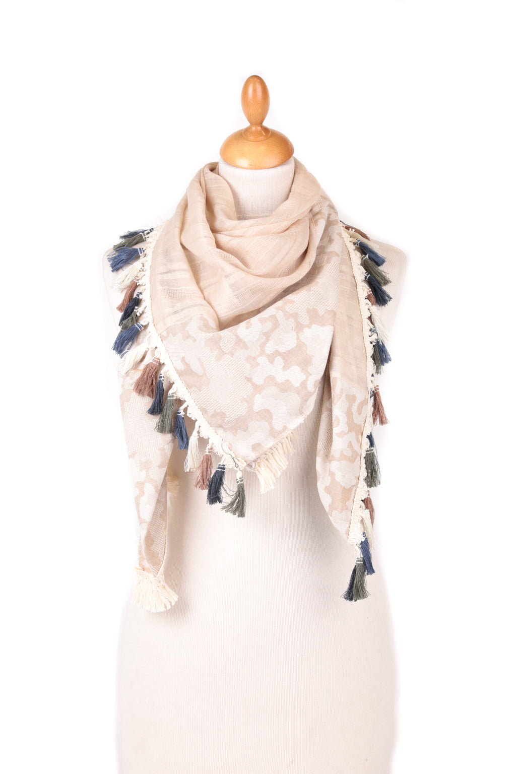 Scarf - Tassel - S1 - Pure Plus Clothing