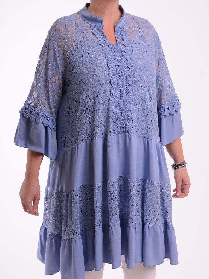 Lagenlook 2 Piece Boho Dress/Tunic - 1293 - Pure Plus Clothing