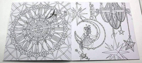 Image of Coloring Book 'The Time Chamber' - QuantumBitz