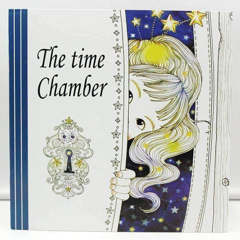 Image of Coloring Book 'The Time Chamber' - QuantumBitz 1 PCS 24 Pages The Time Chamber Coloring Book For Children Adult Relieve Stress Kill Time Painting Drawing Art Book