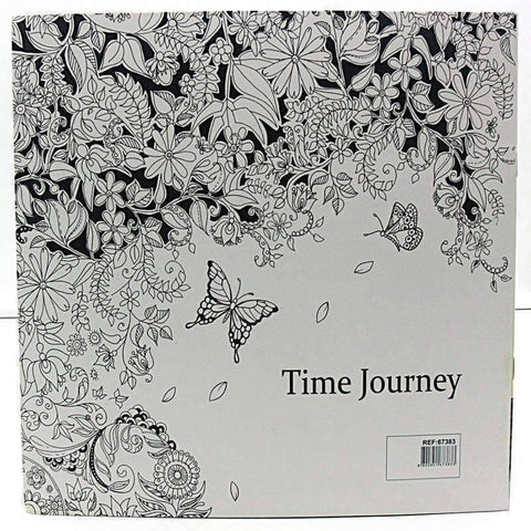 Image of Coloring Book 'Time Journey' - QuantumBitz