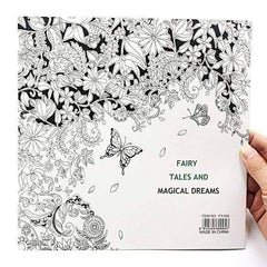 Coloring Book 'Fairy Tales & Magical Dreams'
