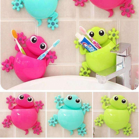 Image of Bathroom 'Frog' Tootbrush Holder - QuantumBitz
