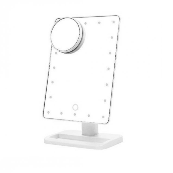 LED Desktop Make up Mirror - QuantumBitz